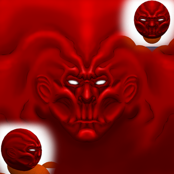 Toribash  Red skull type thing by BenDover-za