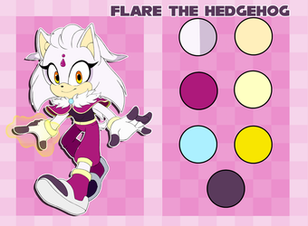 Flare the hedgehog reference by hikariviny