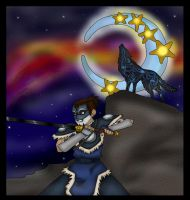 the wolf warrior and the moon by Fallonkyra