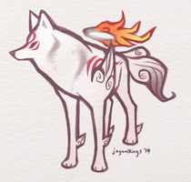 ah... amaterasu by jaywalkings