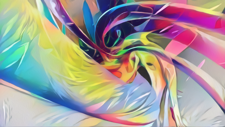 Zbrush Doodle: Day 1331 - Pastel Swirls by UnexpectedToy