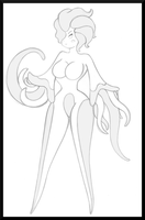 Tentacle Female Chromian by ChompWorks
