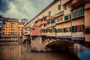 Florence - Ponte Vecchio by olideb08