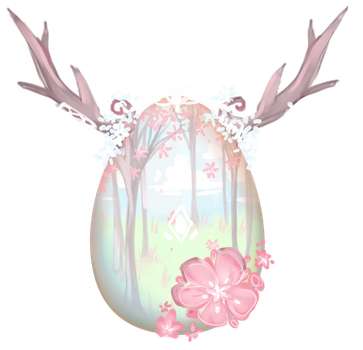 [CLOSED] Winged Deer Mystery Egg {AUCTION} by marilatte