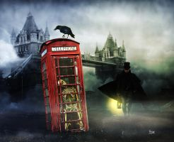Mystery in the Thames. Temporal conflict by Julianez