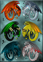 Draalkai Adoptables sheet 3 by LadyDistort