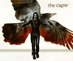 THE CROW by WhileyDunsmoreArt