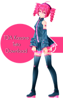 TDA Kasane Teto Download by Ohbey