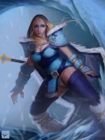 Crystal Maiden by Ocetee