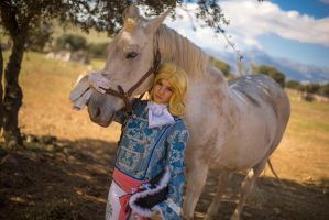 My little horsie - Aph France cosplay by blanelle29