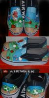 Men's Yoshi Shoes by Paradox-Artistry