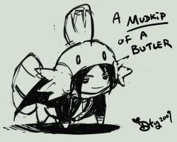 A mudkip of a Butler