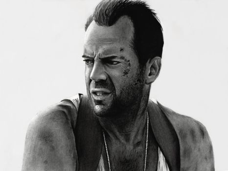 Die Hard - Bruce Willis by cfischer83