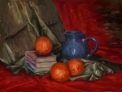 Books and Oranges by RandomSearcher