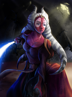 Shaak Ti - That noise... by Totemos