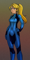 Samus Aran Sketch by Otakatt