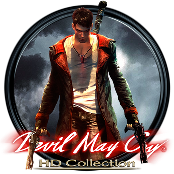 Devil May Cry HD Collection Dock Icon by OutlawNinja