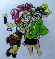 Splatoon | Me Personas bein a kid and also a squid by RonsiTurvy