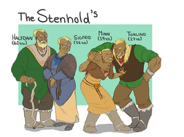the Stenhold family by Thea0605