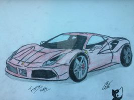 Ferrari488 (Re lighting) by StarZCandy03