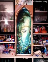 Window to an Enchanted Forest by WormholePaintings