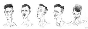 Emotions of Christian from the project about HY by Tarakanbix