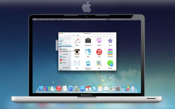 Mac iOS 7 Theme by Atopsy