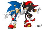 Sonic and Shadow by SketchBravo