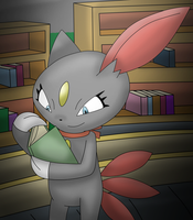 Nerdy Sneasel by Charly-sparks