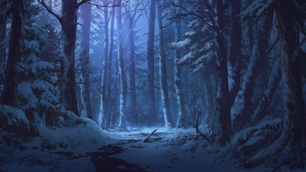 Winter Forest by andanguyen