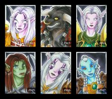 WoW-Characters - Part I by Merinid-DE