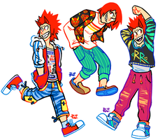 [BNHA] RAD, RED AND RIOT by neonUFO