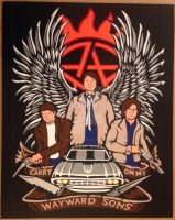 Supernatural Duct Tape Art by DuctTapeDesigns