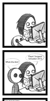 Surgeon Simulator 2013 Mini Comic  by SUCHanARTIST13