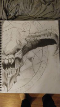 Baron of hell (DOOM) (revised) by RicoMH777