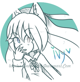 Uncolor Button |Ivy| by Winter-SnowWolf