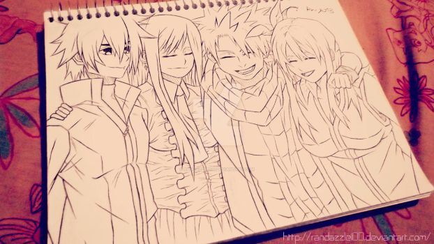 Just Smile- Fairy Tail by Randazzle100