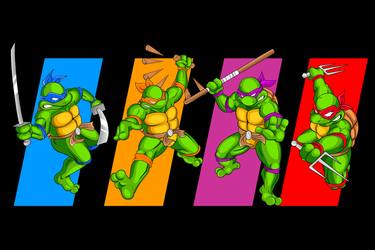 Turtles in Time! by barebalu