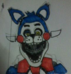 FNaC4 Candy sketch by FreddleFrooby