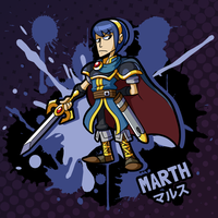 SMASH 150 - 101 - MARTH by professorfandango