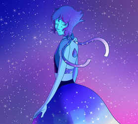 Lapis Lazuli, Princess of Water and Space by booshippl