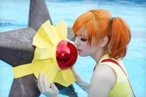 Misty and Staryu cosplay