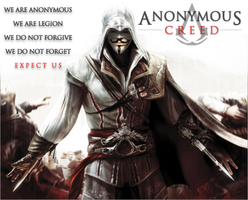 Anonymous Creed by 0Gungrave0