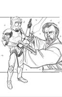 Commanders and Generals: Cody and Obi-Wan WIP by Hodges-Art