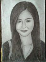 2013 drawing - Ms. Kaye Aubrey by nielopena