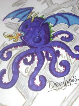 Dragtopus by NwgroGuerra