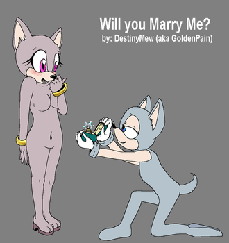 Will you marry me sonic base READ by DestinyMew