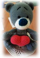 Teddy bear by hund1kene