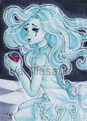 ACEO - Drink with me by Vanillasauce04