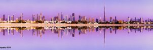 Downtown reflection by JuiceMonkey610